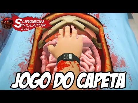 Surgeon Simulator PS4 - ESSE JOGO É DO CAPETA