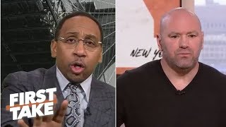 Dana White, UFC '100%' getting into boxing business | First Take
