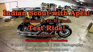 2016 Indian Scout with Apes! | Scout | TestRides