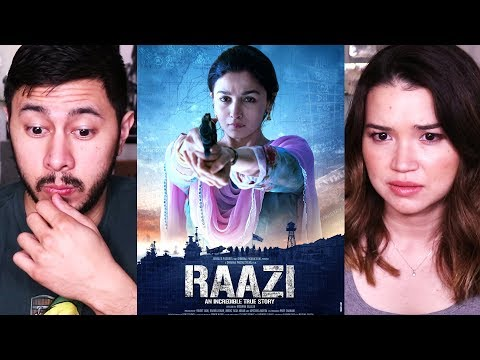 RAAZI | Alia Bhatt | Vicky Kaushal | Trailer Reaction! thumbnail