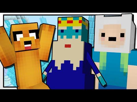 Minecraft   Adventure Time Rescue Mission!!   Custom Mod Adventure video