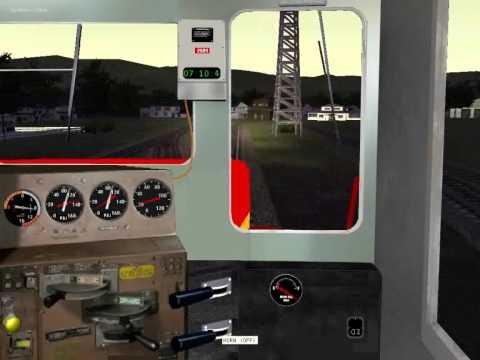 Philippine National Railways test Microsoft train simulator