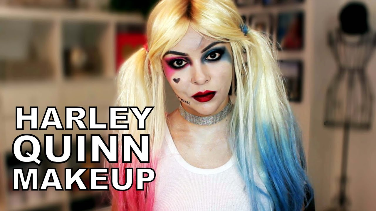Makeup harley quinn