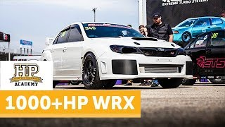 Unlocking 1030WHP From An EJ25 | Subaru STI Drag/Street Build [TECH TOUR]