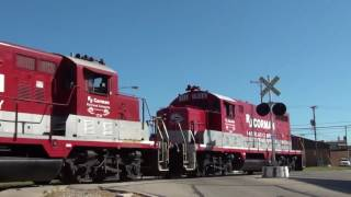 RJ Corman Railroad running Southern Railway style