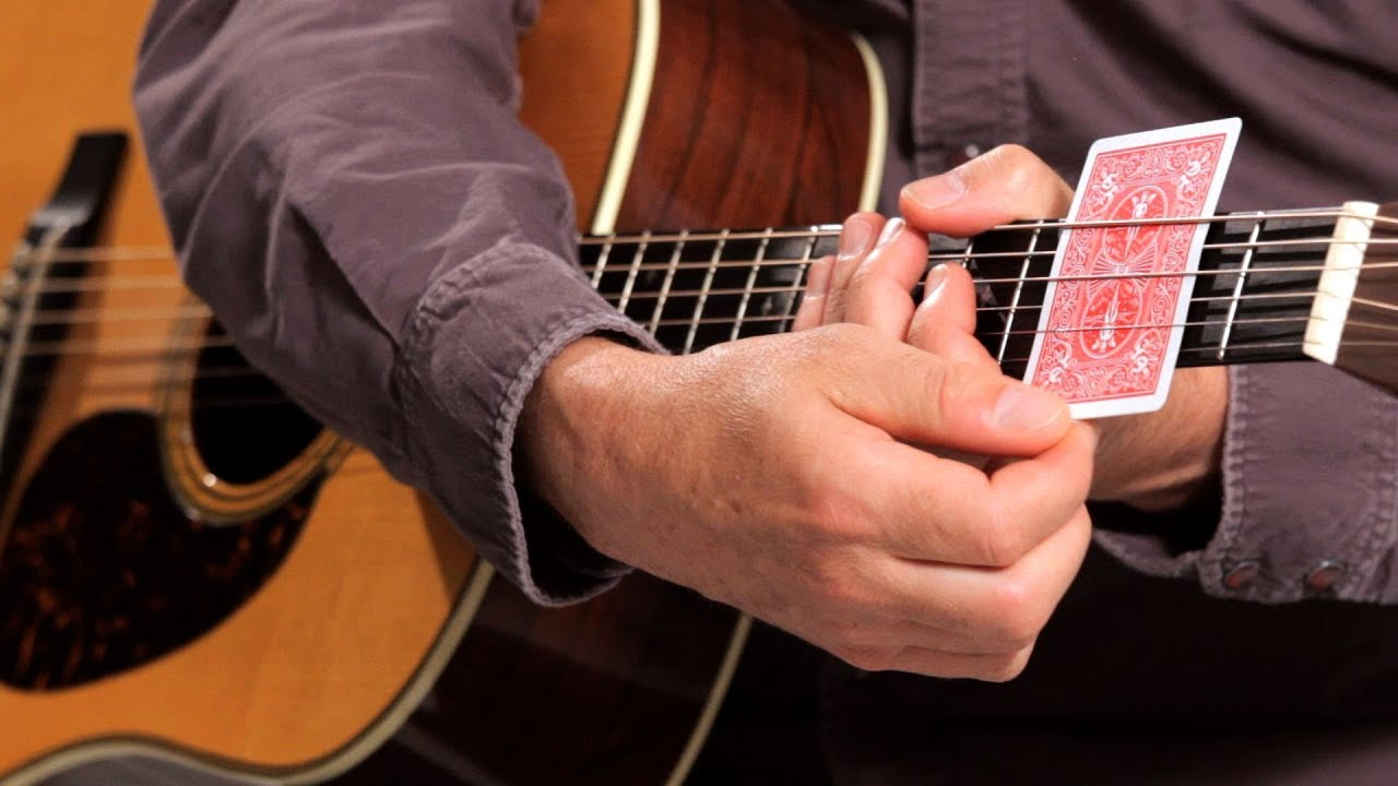14 Easy Guitar Chords For Beginners  National Guitar Academy