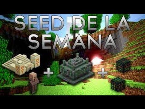 Minecraft ll Seed De La Semana + Info Del Canal