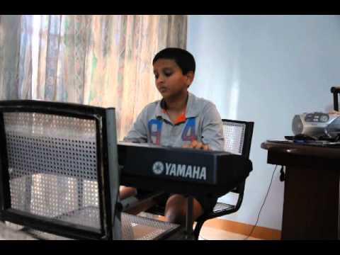 Omkar on keyboard