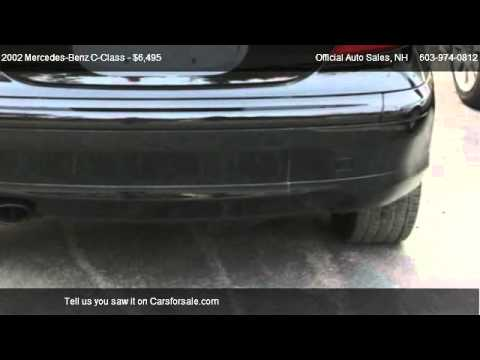 Mercedes c coupe 2002 for Mercedes benz tracking system