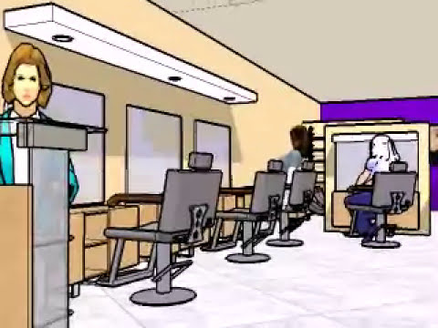Beauty salon proposed interior design in mumbai youtube for Interior designs for beauty parlour