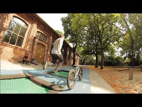 Weird BMX Riding W/ Russell Wadlin & Lucas Filliung On Crooked World