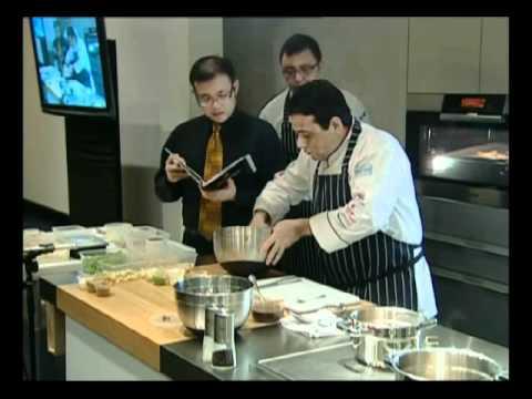 World Gourmet Summit 2011 Manish Mehrotra Culinary Masterclass, Tandoori Prawns Chaat