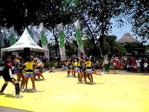 Klevenders Sbo Tv cheerleaders competion