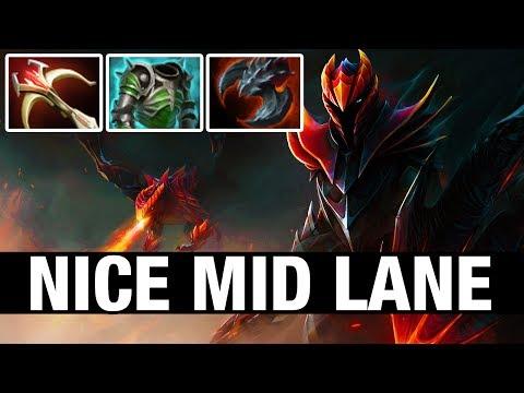 NICE MID LANE - JerAx Plays Dragon Knight - Dota 2
