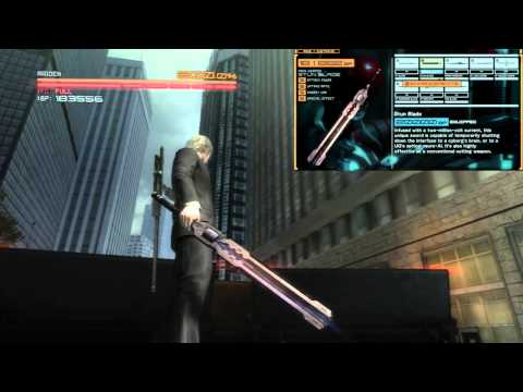 Metal Gear Rising: Revengeance - Weapons Showcase