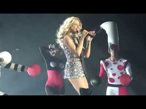 Kylie Minogue Live @ Echo Arena, Liverpool - Step Back In Time / Spinning Around