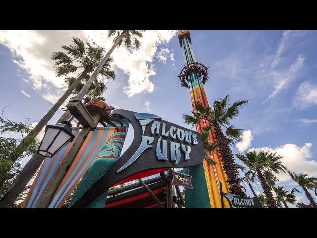 Falcon's Fury Drop Tower at Busch Gardens FULL Ride POV Multi Cam with All Angles Shown