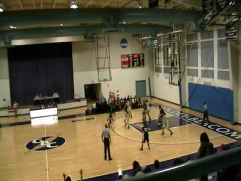 GBC vs. Wilmington University Women's Basketball, 1/19/2010 Video