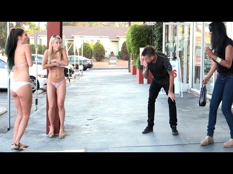 Blowing Girls Clothes Off Prank!! video