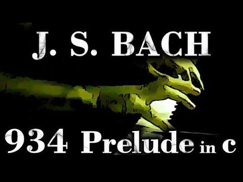 Бах Иоганн Себастьян - Prelude Number 2 In C Minor Bwv 934 Piano