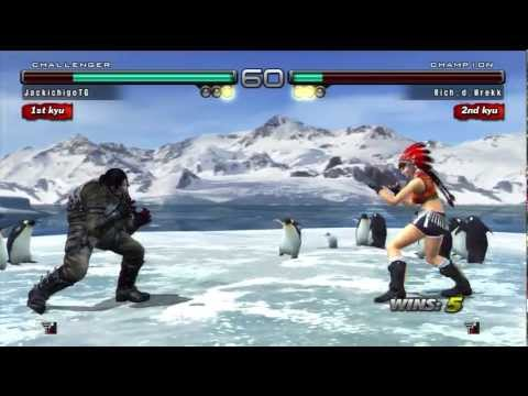 Tekken 5 DR Online - Good matches?