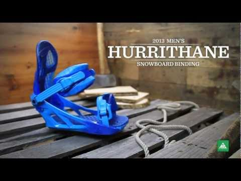 Video: Hurrithane Snowboard Bindings