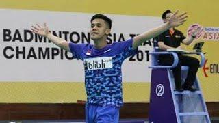 Video  39 Drama Korea 39 Firman Abdul Kholik Di Semifinal Badminton Asia Team Championship 2018