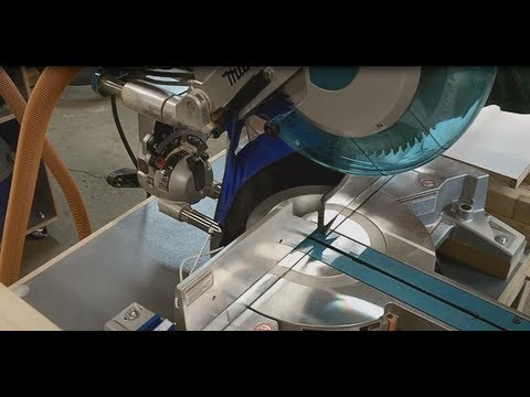 Miter Saw Dust Collector - The Dust Chuter