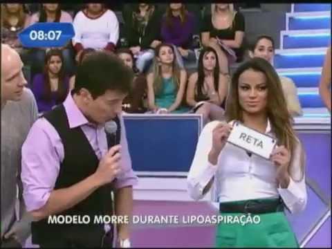 Morre atriz assistente de palco de Rodrigo Faro