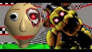 【ゆっくり実況】バルディ先生の学校が殺人ロボットに支配されたようです - Baldi's Basics - FNAF 【ホラーゲーム】
