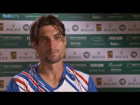 David Ferrer Reflects On Beating Nadal In Monte Carlo