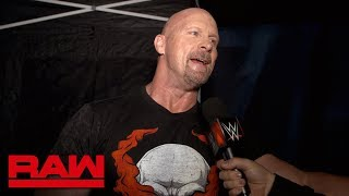 """Stone Cold"" is not riding off into the sunset yet: Raw Exclusive, July 22, 2019"