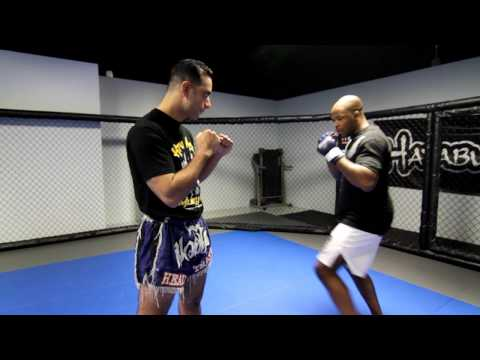 MMA Striking Techniques with Kru Ash and David Loiseau ( Technique 1) Image 1