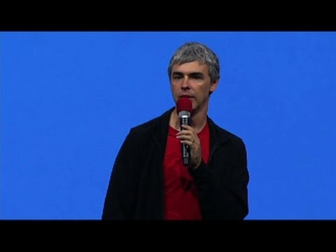 CNET News - Larry Page updates I/O attendees on Glass