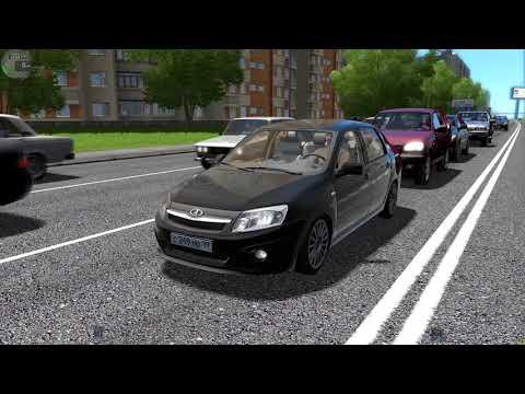 City Car Driving - Едем на работу на  Lada Granta Sport/Steering wheel Logitech G27
