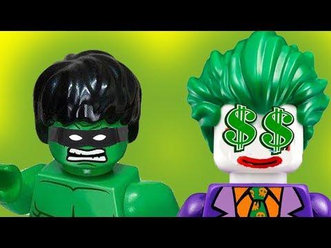 Лего мультики - День недоразумений! Халк, Джокер, Веном новые мультфильмы для детей на русском 2017