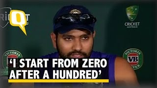 I Start From Zero After Scoring a Century: Rohit Sharma