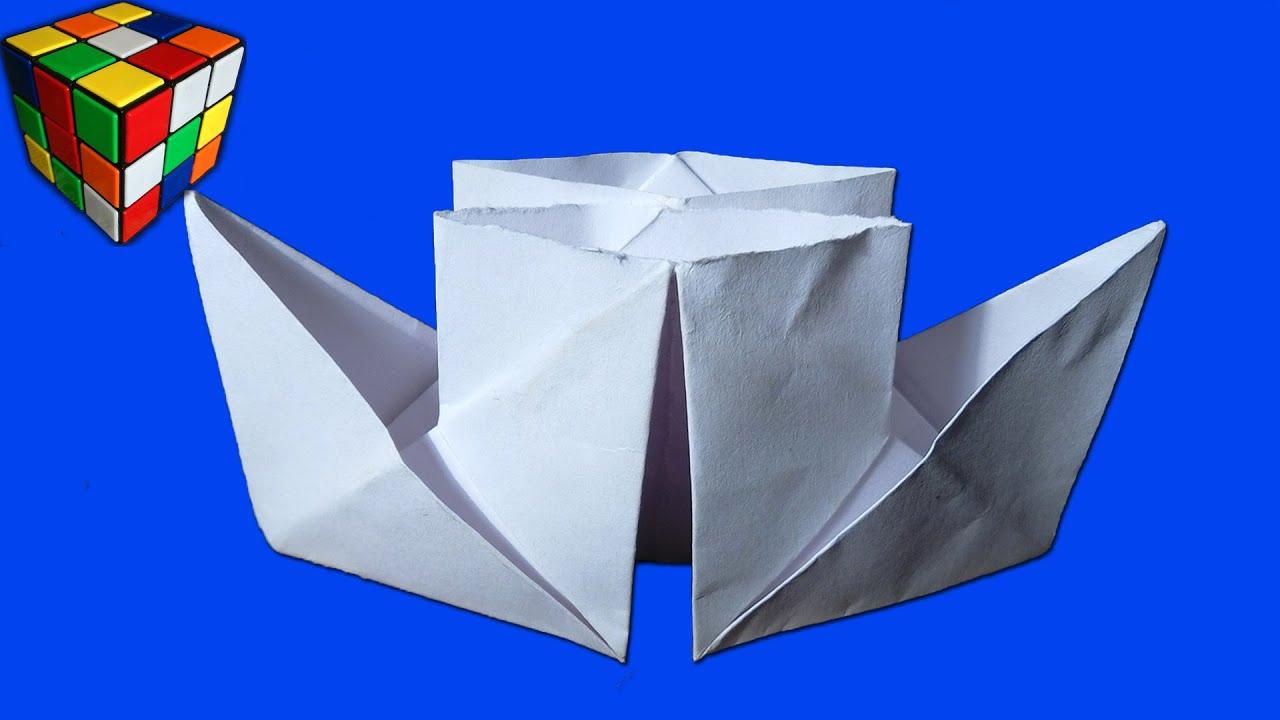Как сделать пароход без бумаги