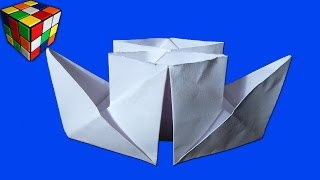 Origami Jet Aircraft Tutorial  YouTube