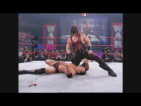 Kane vs The Rock  - Raw is War (1.1.2001) thumbnail