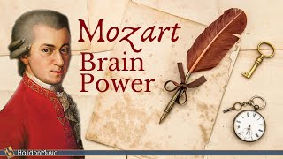 Mozart - Classical Music for Studying & Brain Power