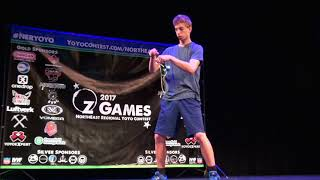 Tyler Kelly   1A Sport 13 to 17   6th Place   Northeast Regional YoYo Contest 2017