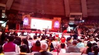 Shyam Rangeela Doing Modi and Other Leaders Mimicry at Lodhi Mahotsav.