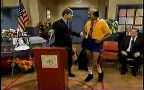 Mad TV - Coach Hines - The Memorial