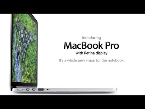 Official New MacBook Pro Feature Trailer