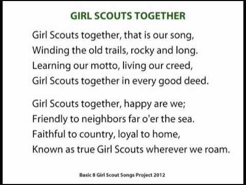 girl scouts together   youtube