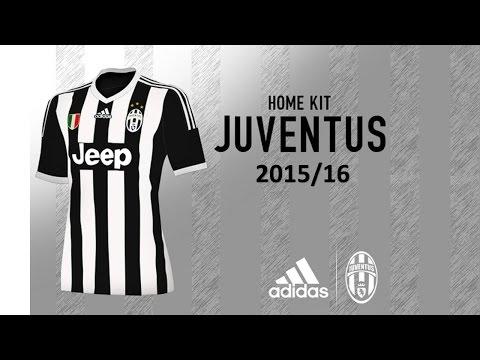 Nuove Magliette Juventus Adidas 2015/2016 Anteprima