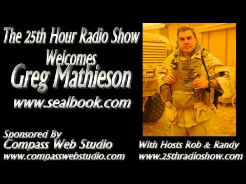 Greg Mathieson - Author/War Zone Reporter - United States Naval Special Warfare U.S. Navy SEALs