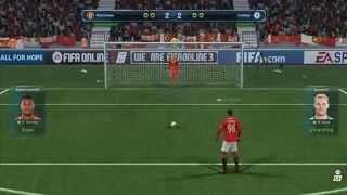 แมนยู Vs เชลชี ยิงจุดโทษ fifa 3