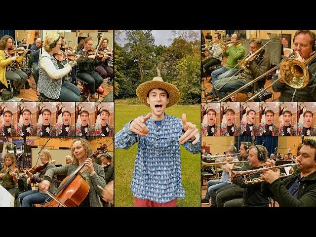 "Jacob Collier - ""All Night Long""のMVを公開 新譜「Djesse Vol.1」収録曲 thm Music info Clip"